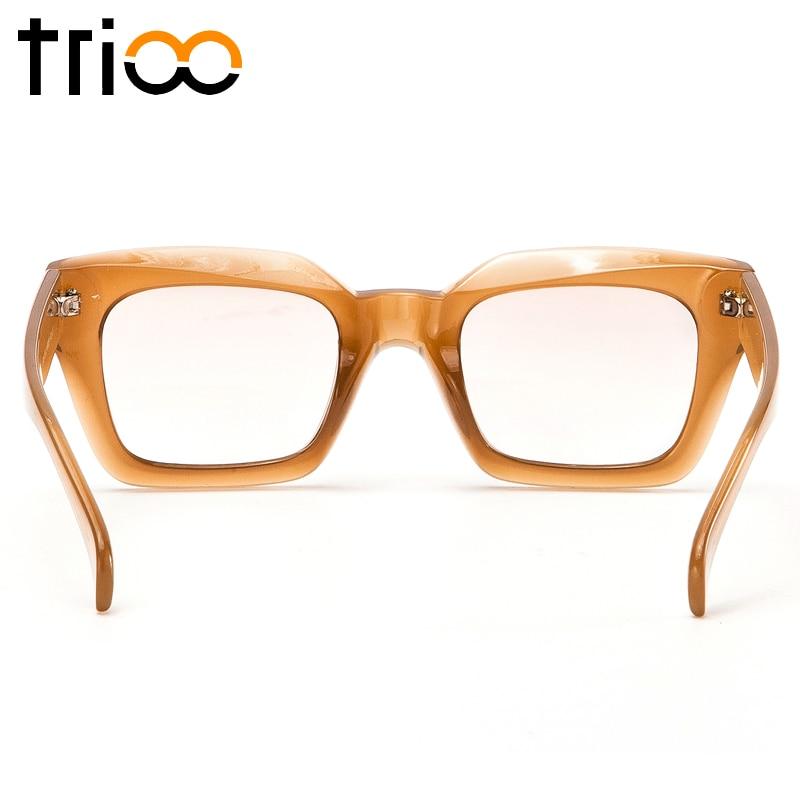 TRIOO բարձրորակ քառակուսի ակնոցներ - Հագուստի պարագաներ - Լուսանկար 4