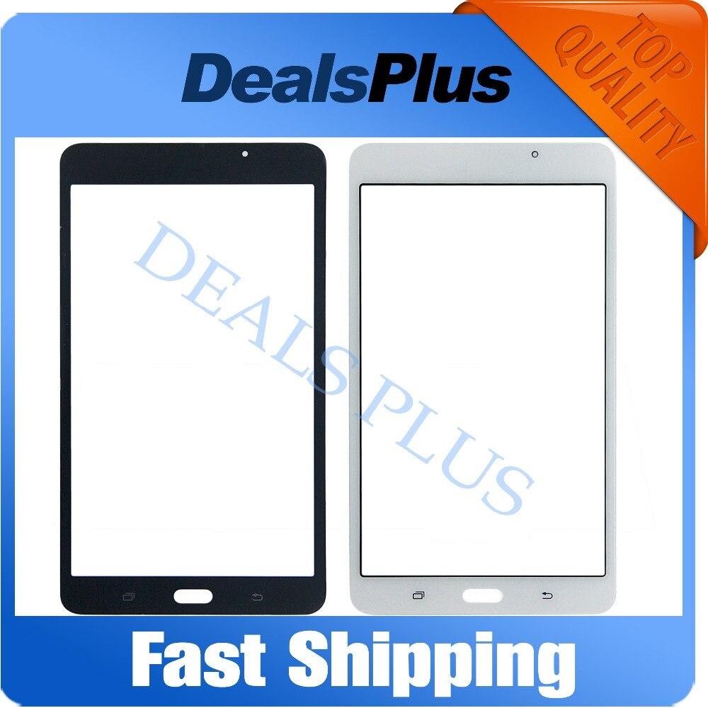 Замена Новый передний Стекло внешний Стекло объектив для samsung Galaxy Tab 7,0 LTE SM-T280 T280 7-дюймовый белый черный