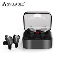 Original SYLLABLE D9 Twins Bluetooth Earphone True Wireless Stereo Earbud Sweatproof Wireless Sports Bass Earphone For