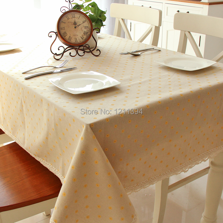 cotton rectangular table cloth dining table round square christmas tablecloth runner for banquet wedding party decoration in tablecloths from home garden - Square Christmas Tablecloth
