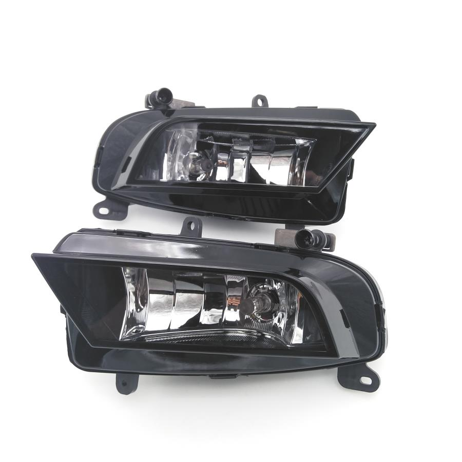 Car Light For Audi A4 B8 Quattro 2013 2014 2015 Car-styling Front Halogen Fog Light Fog Lamp Assembly With Bulb 12v car fog light assembly for toyota rav4 2013 2015 front left and right set fog light lamp with harness relay fog light