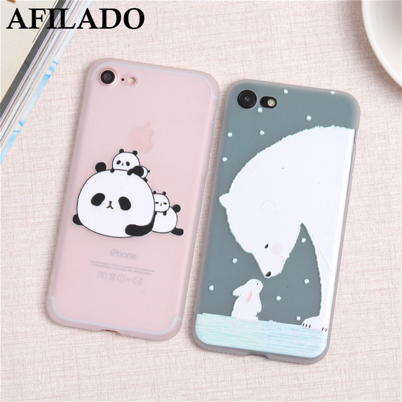 coque iphone 7 silicone ours