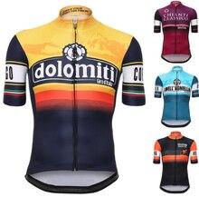 Tour De Italien DITALIA 2017 Radfahren Jersey kurzarm radfahren shirt fahrrad kleidung Ropa Ciclismo Atmungs