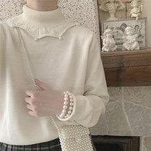 White Women Winter Sweater