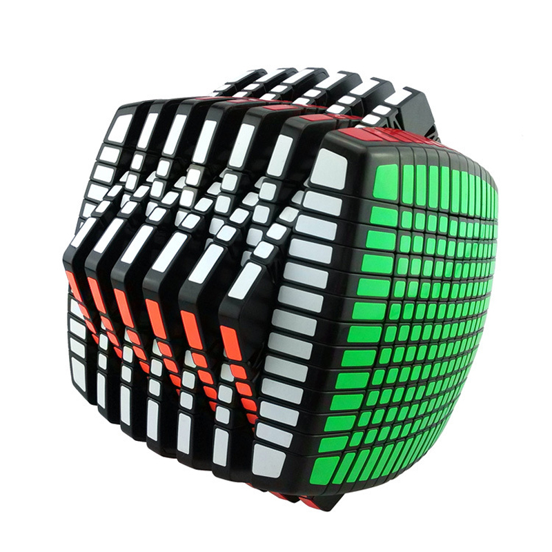 MOYU 13 Layers 13x13x13 Cube Speed Magic Cube Puzzle Educational Toy 136mm yj guanlong speed third order magic cube toy
