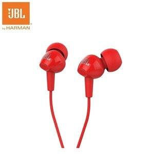 Image 2 - JBL C100SI בס סטריאו אוזניות ללכת עבור אנדרואיד IOS טלפונים ניידים אוזניות כמו רוק זירקון Audifonos עם מיקרופון