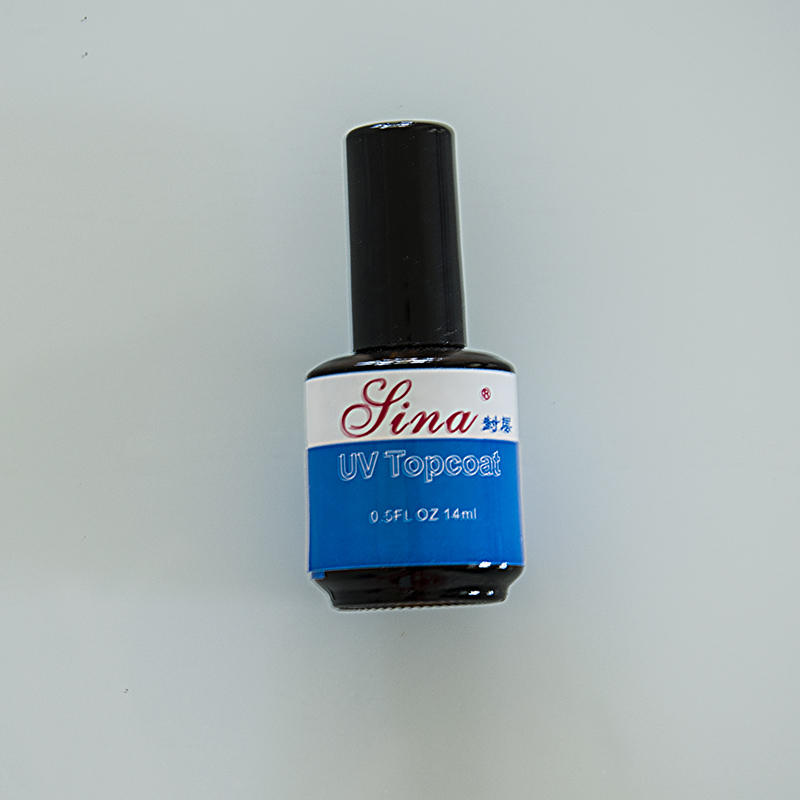 high quality 14ml uv topcoat top