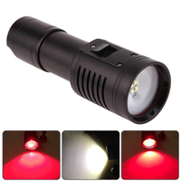 XPE LED Waterproof Diving Photography Video Light Torch Underwater Flashlight