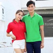 Модная футболка поло для мужчин и женщин хлопок короткий рукав рубашка Летняя одежда гольф теннисные майки плюс размер S-XXXL