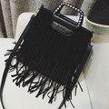 Female bags 2017 personality tassel handbag fashion all-match large bag shoulder bag trend messenger bags bolsa feminina