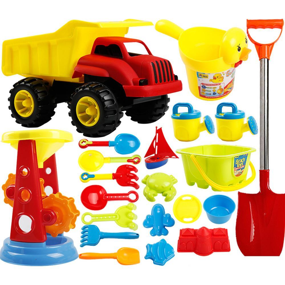 Детские пляжные Набор игрушечных автомобилей ведро ребенка песок лопатой Кассия инструменты Детские игрушки пляжа инструмент игрушки для ... ...