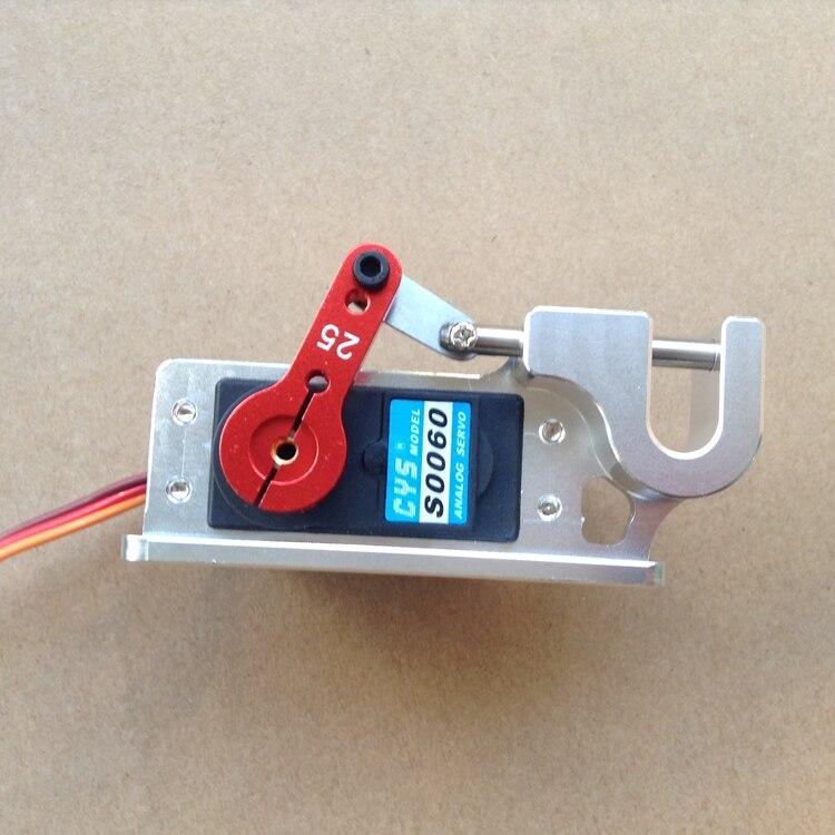 Жестокие Servo диспенсер параболических переключатель устройство высокой точности большой крутящий момент бросок устройство для наживки Boat ... ...