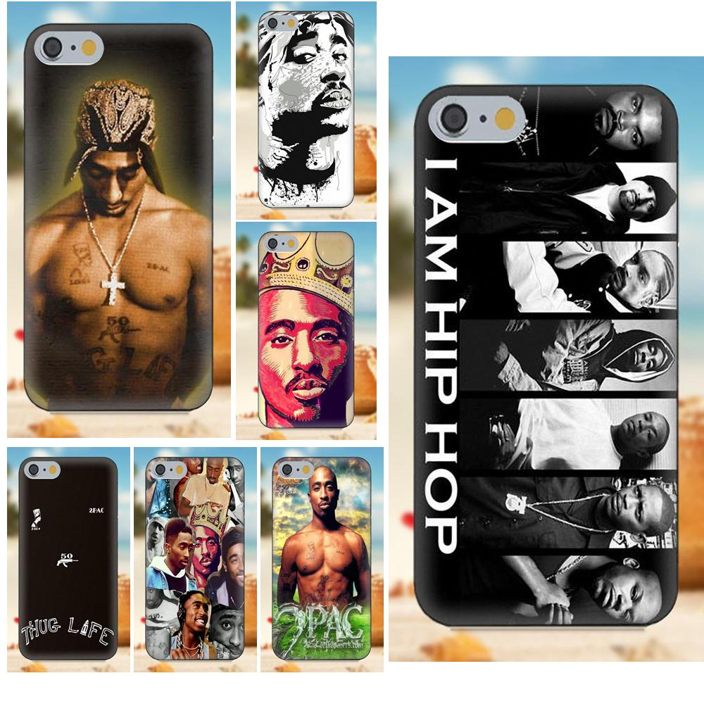 Soft Tpu Cell Case 2pac Tupac Shakur Hip Hop Rapper For Xiaomi Redmi 5 4a 3 3s Pro Mi4 Mi4i Mi5 Mi5s Mi Max Mix 2 Note 3 4 Plus Half-wrapped Case Cellphones & Telecommunications