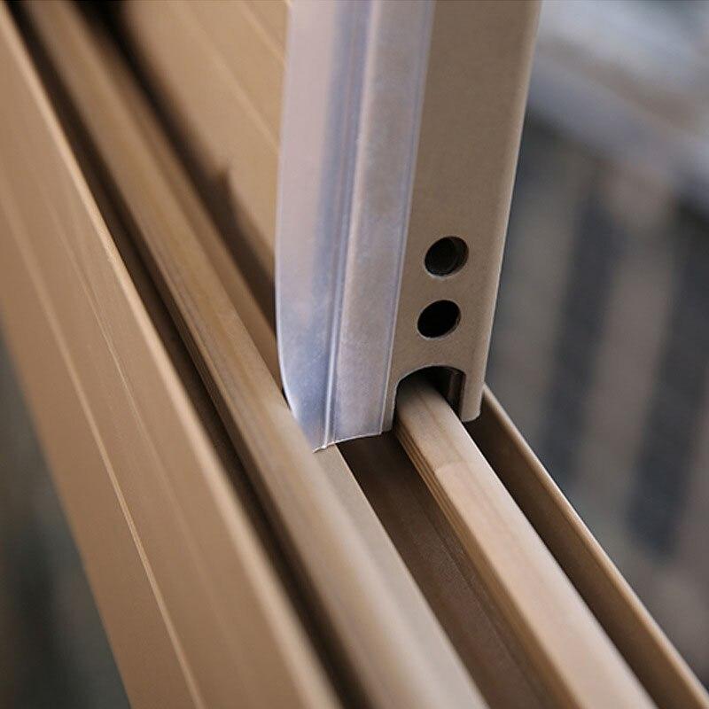 3535mm X 5 M Froid Projet De Bouchon Sans Cadre Fenêtre Coulissante