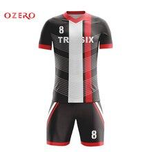 ВЫСОЧАЙШЕЕ тайское качество на заказ домашние футбольные Трикотажные изделия для футбола рубашки майки для футбола