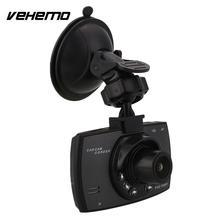 """Полный 1080 P 2.7 """"ЖК-двойная линза автомобилей Даш камеры ночного видения видеорегистратор"""
