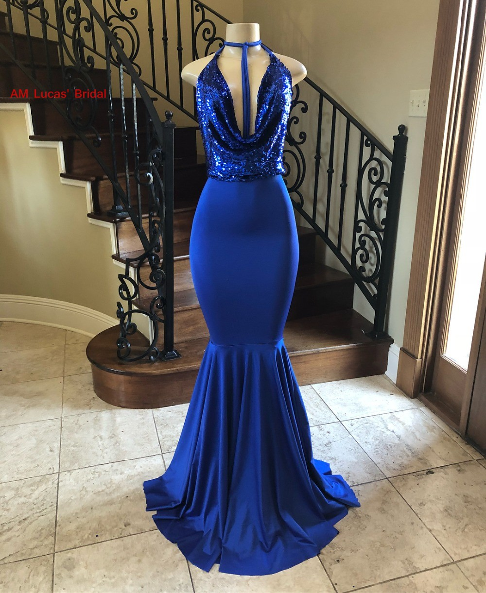 New Long Mermaid   Prom     Dresses   2019 New Sexy Vestidos De Formatura Women Evening Party   Dress