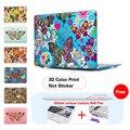Красочные Бабочки Печати Ноутбук Крышки Случая Втулки для MacBook Air 11 A1465 air 13 дюймов A1466 Pro A1502 Retina 13.3 15 A1278
