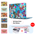 Colorful Butterflies Print Laptop Case Cover Sleeve for MacBook Air 11 A1465 air 13 inch A1466 Pro Retina 13.3 15 A1278 A1502