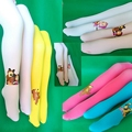 Русский мультфильм дети девочка леггинсы бархат конфеты цвет весна осень колготки трусы 2-9Age ZL140916