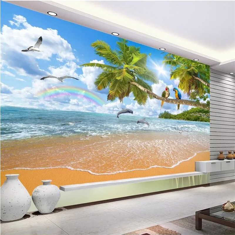 Beibehang Custom Wallpaper Home Decor Living Room Bedroom: Beibehang Custom 3d Wallpaper Home Decor Living Room