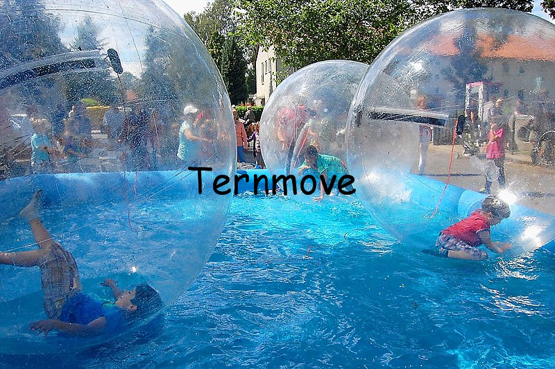 water walking ball  Zorb Ballon 2m Germmy zipper inflatable body zorbing ball for kids walk on water balls water roller balls inflatable water spoon outdoor game water ball summer water spray beach ball lawn playing ball children s toy ball