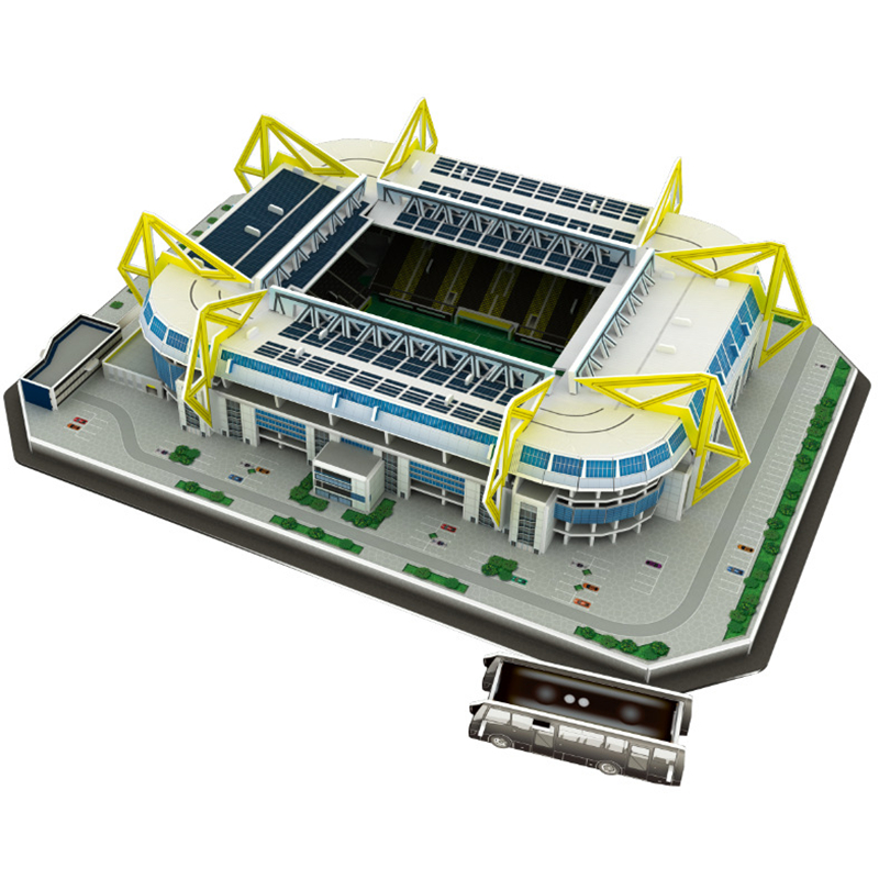 Classic-Jigsaw-Models-Germany-Signal-Iduna-Park-Schwarz-Gelb-Football-Game-Stadiums-DIY-Brick-Toys-Scale
