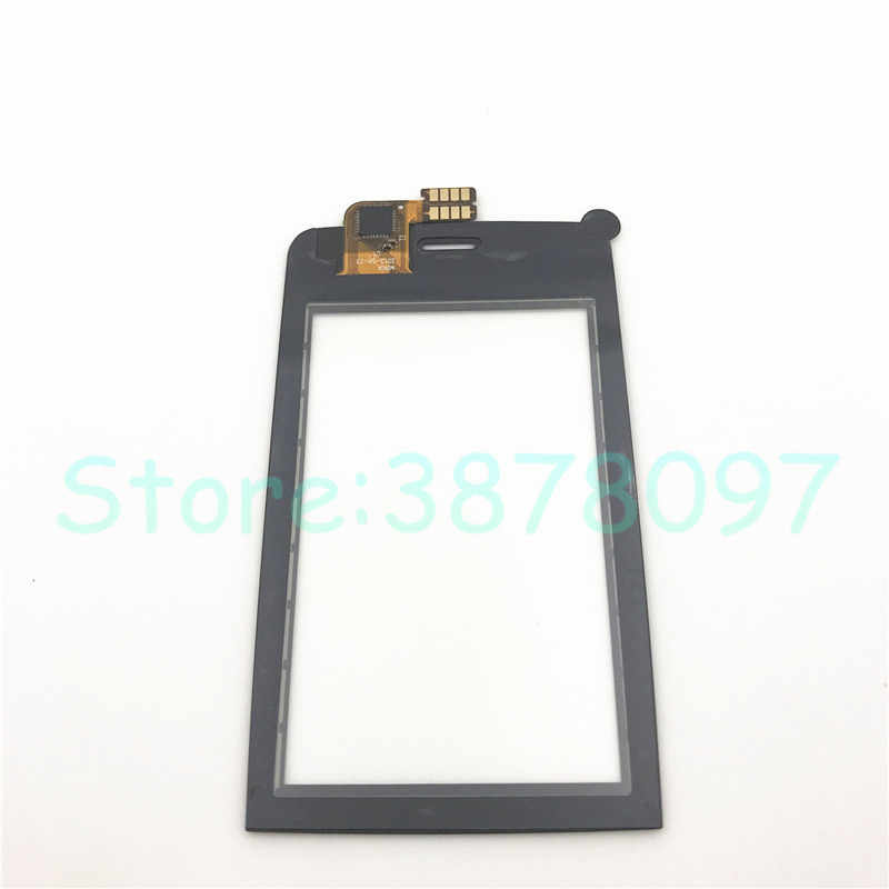 100% الأصلي الأسود الزجاج الأمامي ل نوكيا آشا 308 309 310 محول الأرقام بشاشة تعمل بلمس الاستشعار الهاتف المحمول لوحة اللمس + أدوات