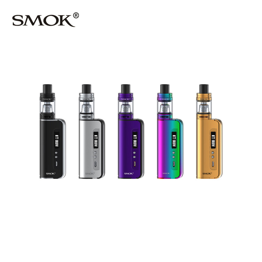 Original SMOK OSUB Baby 80W Kit w/ Smok TFV8 BabyTank 3ml with OSUB Baby MOD 80W VW/TC modes Vape Kit VS Alien AL85 Starter Kit funry st2 us remote control touch switch 1 gang 1 way glass panel smart wall switch for home automation free shipping