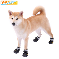 4pcs Lot Pet Dog Boots Winter Feet Waterproof Non Slip Paw Protector Sport Dogs Hiking Shoes
