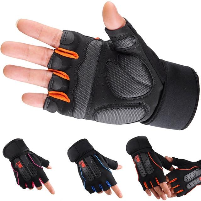 Snail fitness gloves men's sports summer sun outdoor skating exercise dumbbell weightlifting gloves wrist