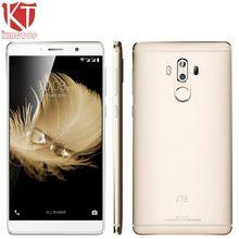 Оригинальный ZTE Axon 7 Max Snapdragon 625 Octa core 4 ГБ Оперативная память 64 ГБ Встроенная память 6.0 «1920*1080 P 3 Камера 13MP + 13MP dual sim мобильный телефон