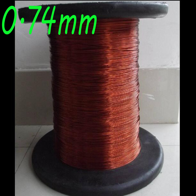 cltgxdd 0.74mm mm enameled wire enamelled round copper wire ... 919c549fa8