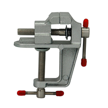 цена на Mini CNC machine Aluminum Miniature Small Jewelers Hobby Clamp On Table Bench Vise Mini Tool Vice