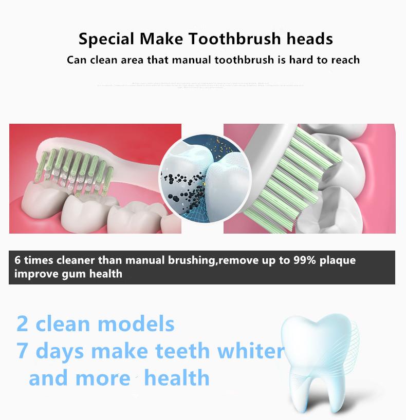 ultrasonic electric toothbrush