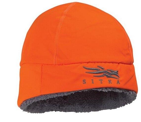 New Sitka Hunting Cap Men Winter Hats Camouflage Windstopper Thermal Primaloft Fur SITKA BEANIE Cap Beanies For Men Winter Hat
