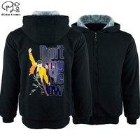 Don't stop me now Men Sweatshirt 3d hoodies men Winter newest autumn winter fleece Thicken jacket tracksuits coat hip hop rock