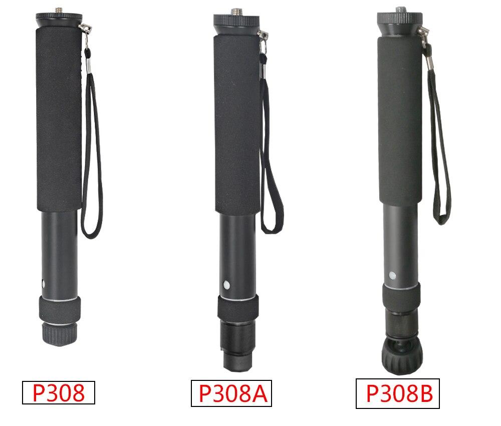 158cm professional aluminum camera unipod monopod flip lock with 3 legs feet base tripod stand. Black Bedroom Furniture Sets. Home Design Ideas