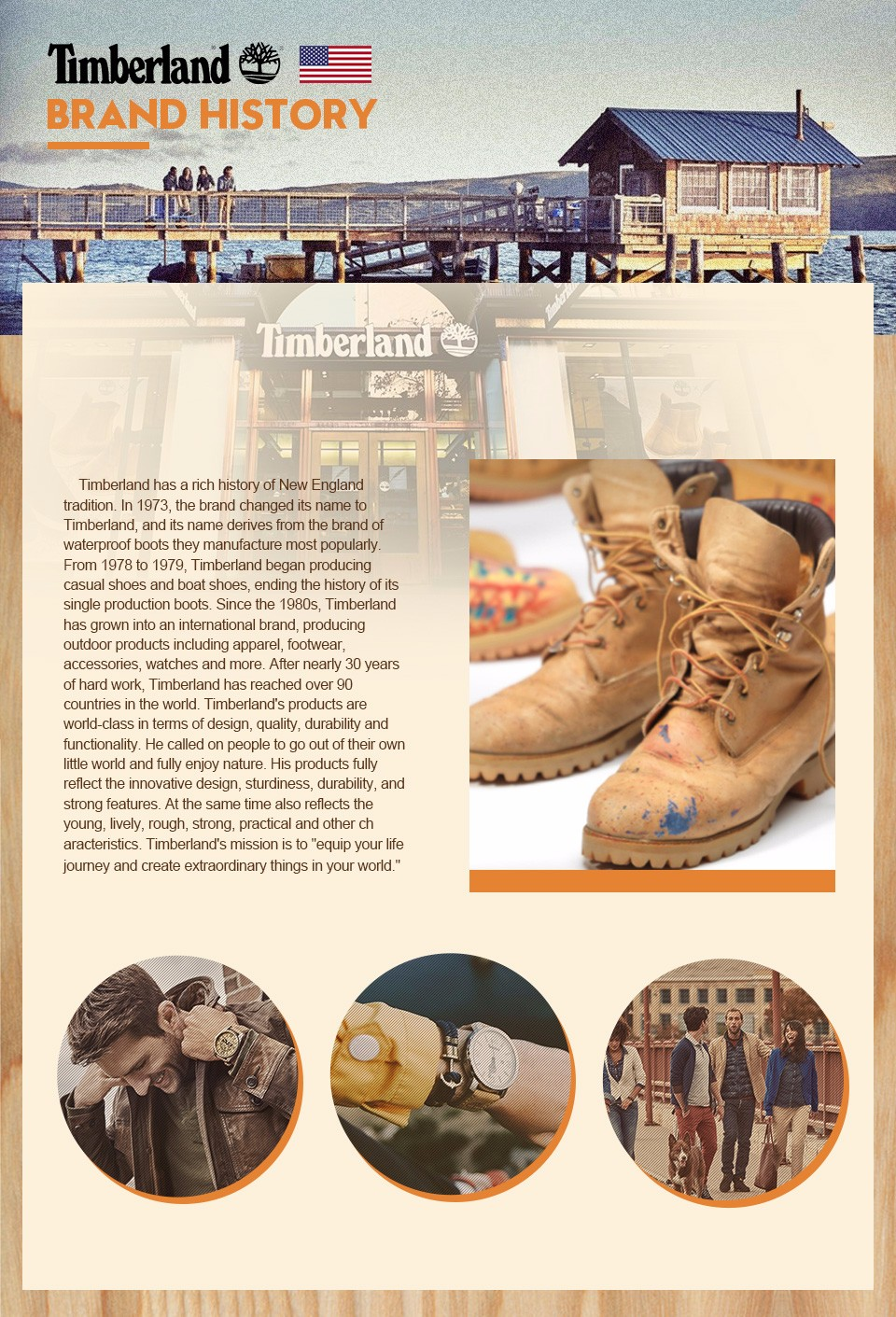 Timberland brand story