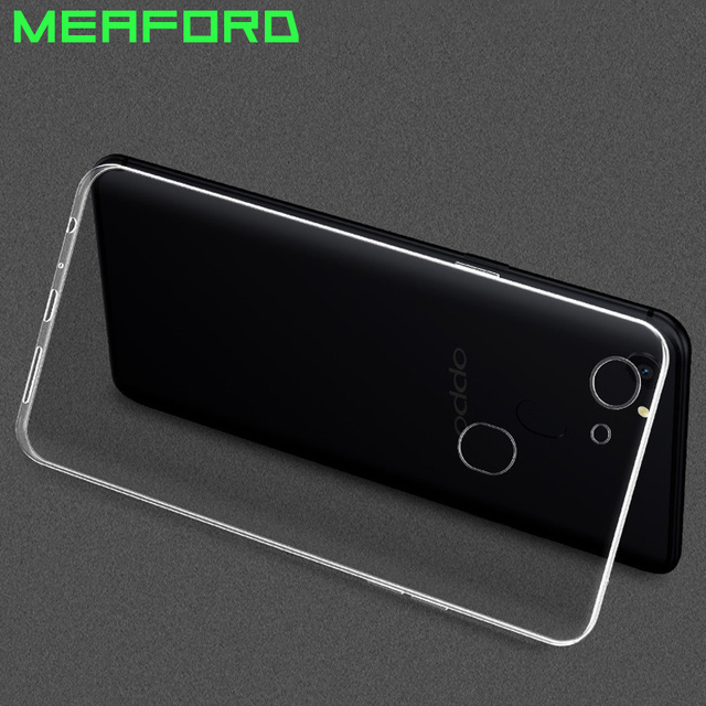 109c47d827f985 For OPPO F5 Phone Case Transparent Clear Soft TPU Silicone Case Ultra Thin  Coque For OPPO
