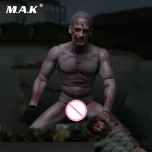 Walking Dead Figure 1: 6 Scale Male Figure Durable Body Head Toy Toy Figure Toy da collezione per regalo