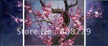 Pink Plum Blossom Flower Art Painting Suppliers  LRGP0293