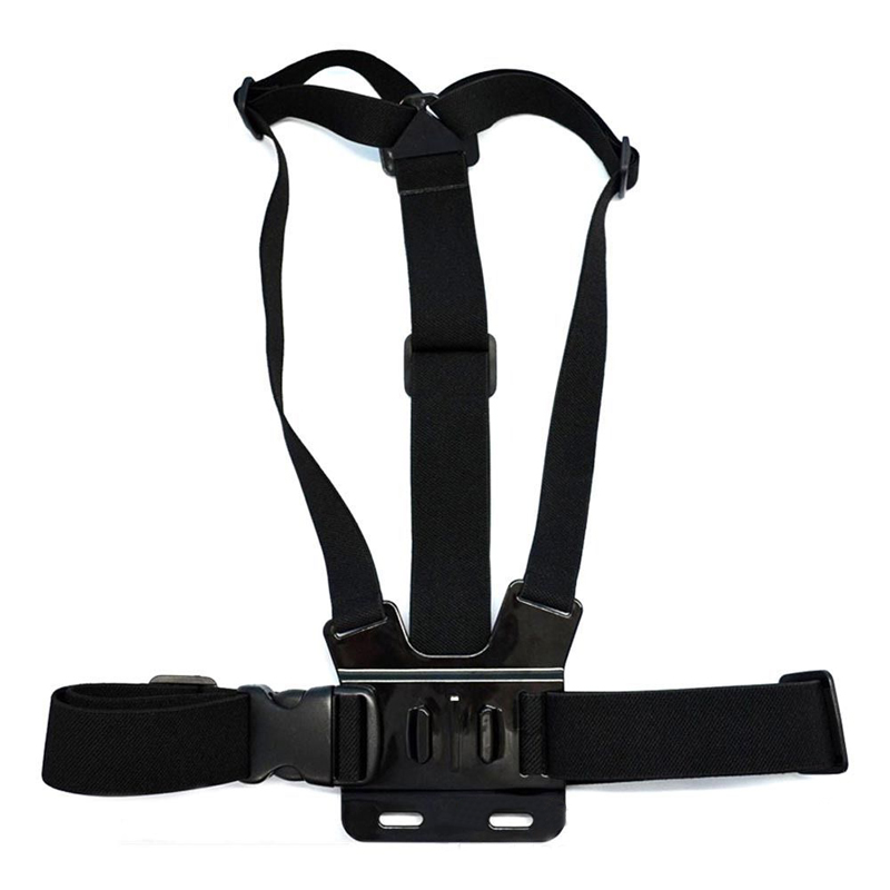 for Gopro Accessories Adjustable Chest Strap Belt Body Tripod Harness Mount For Gopro Hero 5 4