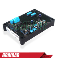 AS480 Brushless Generator AVR RED Self Excited Brushless Type Genset Voltage Regulator With Sensing Input