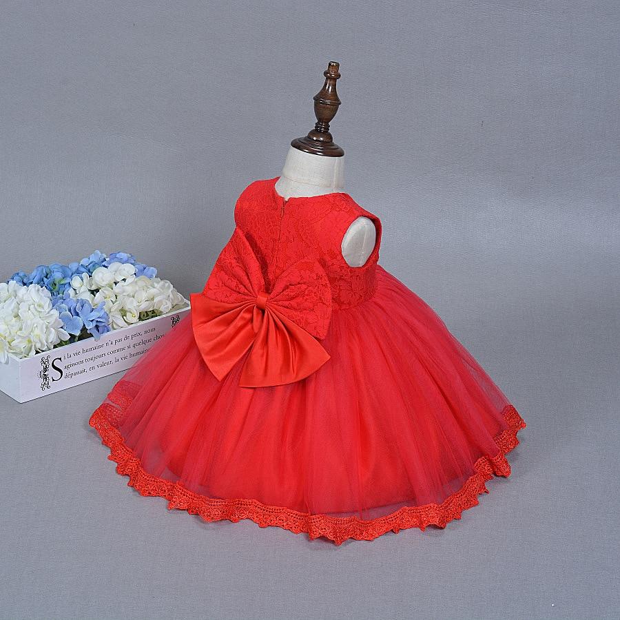 Letnia dziewczynka sukienka do chrztu Niemowląt Princess Dress 1st - Odzież dla niemowląt - Zdjęcie 2
