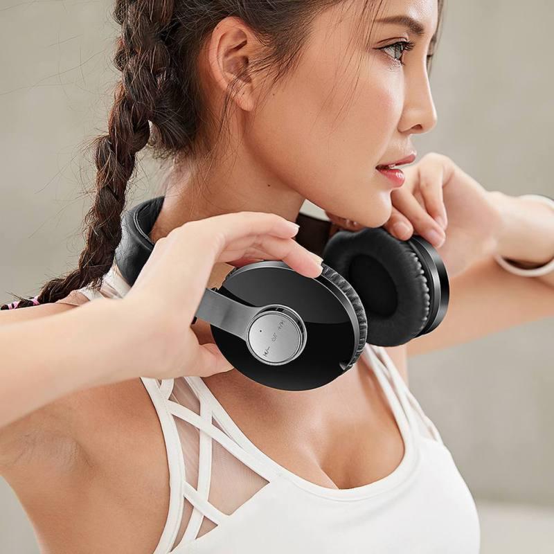 T9 CSR Binaural sans fil sport Bluetooth casque HIFI basse stéréo casque écouteur pour iPhone Xiaomi Huawei PC ordinateur portable - 4