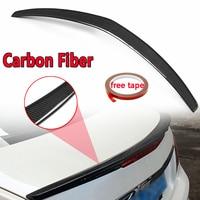 Real Carbon Fiber Rear Trunk Spoiler For Mercedes Benz 2010 2016 E class E350 E550 W207 C207 2 Door For Coupe Models Rear Wing