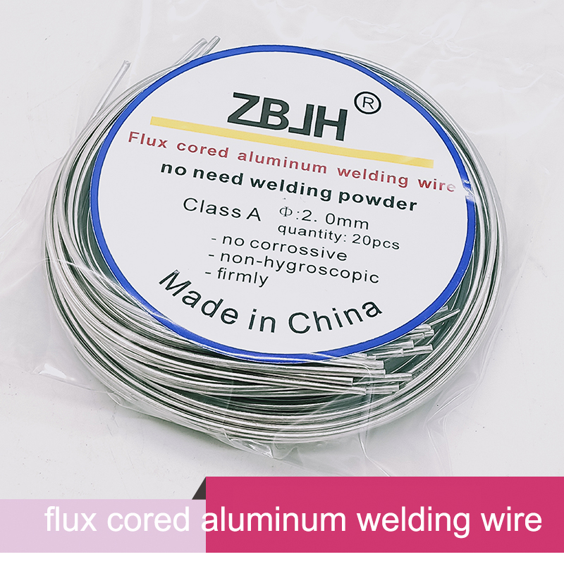 Aluminum Welding Rods WE53 Flux Cored Low Temperature Brazing Wire 500x2.0mm