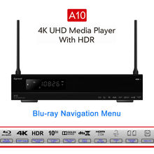 Egreat A10 4K UHD Media Player Hi3798CV200 2G/16G AC WIFI Gigabit LAN HDR10 Blu-ray 3D Dolby ATOMS DTS X VIDON XBMC