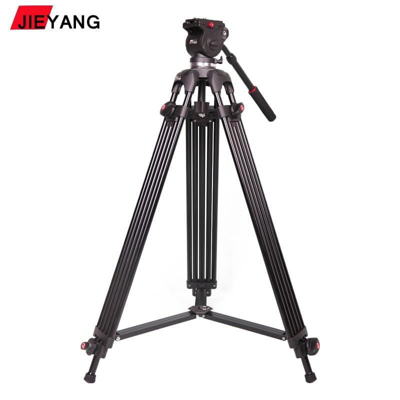 PROGO JIEYANG JY0508B JY-0508B 6KG height 185cm Professional Video Tripod/Dslr VIDEO Tripod Fluid Head Damping for video